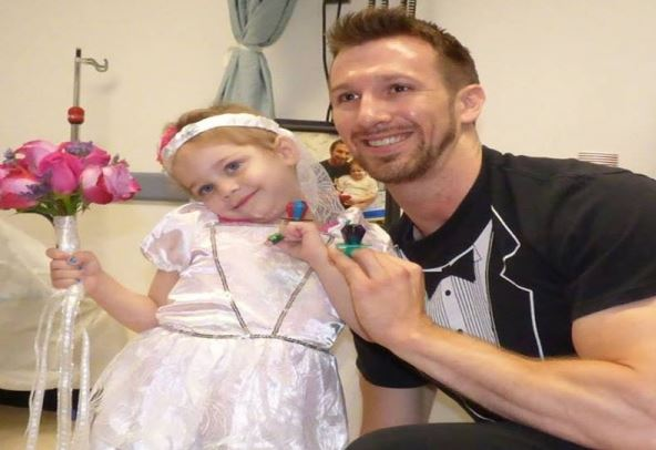 4 year old cancer patient