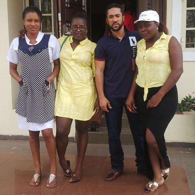 Mary Igwe, Jennifer Idemili, Majid Michel, and Zizi Mac Anthony
