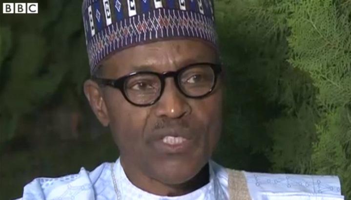 Buhari-BBC
