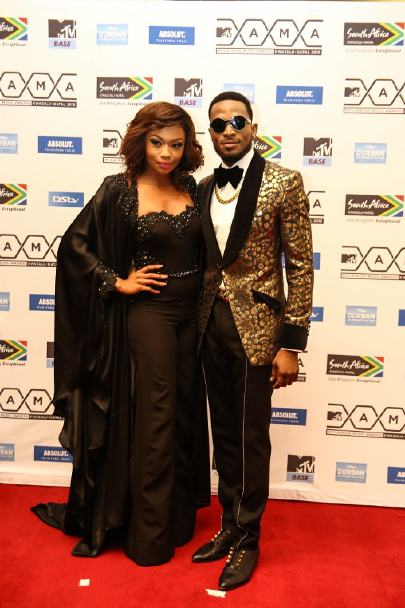 Dbanj-and-Bonang-Matheba-