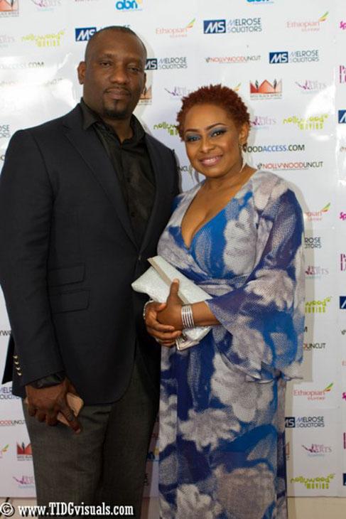 Dele Onabowu and Victoria Inyama