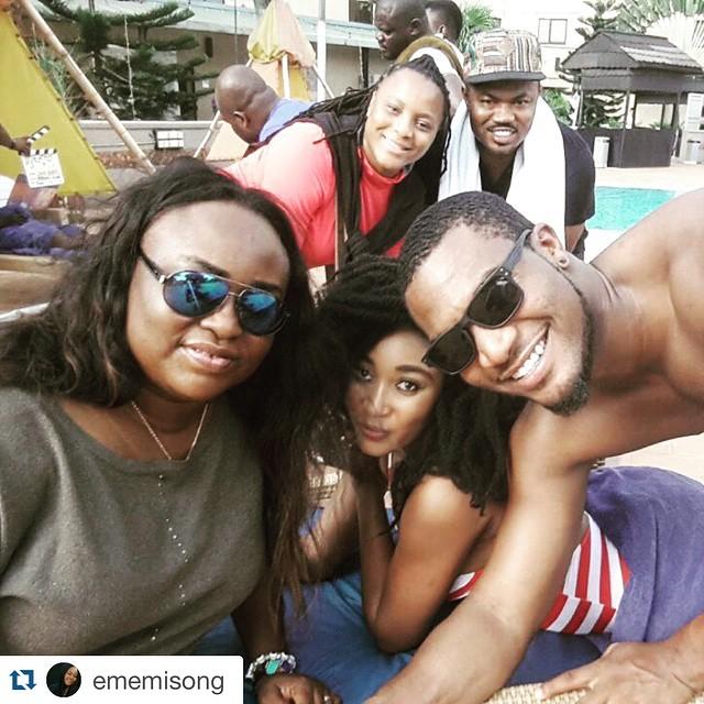 Emem, Kunle, Mbong, Ansa and Robson