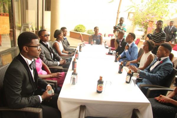 Genevieve-Nnaji-and-the-11-students-4
