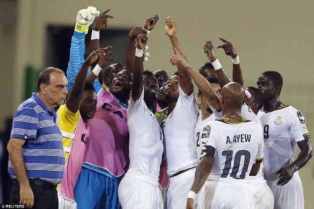 Ghana-Players