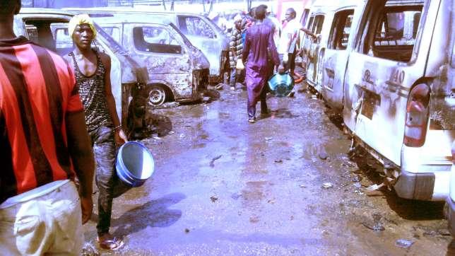 Gombe Motor Park Bomb Blast