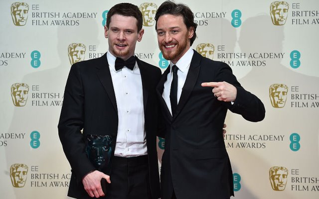 Jack O'Connell and James McAvoy