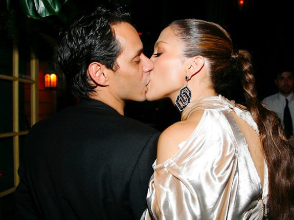 NEW YORK - SEPTEMBER 13: Marc Anthony and Jennifer Lopez attend a post VMA dinner at The Waverly Inn on September 13, 2009 in New York City. (Photo by Gabriela Maj/Getty Images)   Original Filename: GYI0058340295.jpg