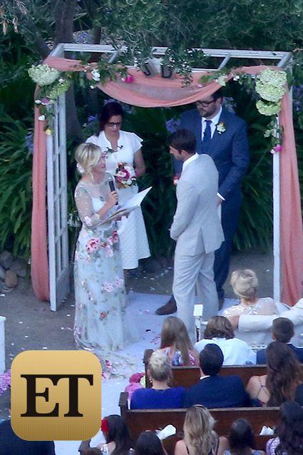 Exclusive... Jennie Garth Marries David Abrams At Her Ranch In Santa Ynez - NO WEB / NO TV