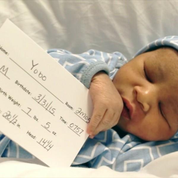 Joseph and Adaeze baby 3