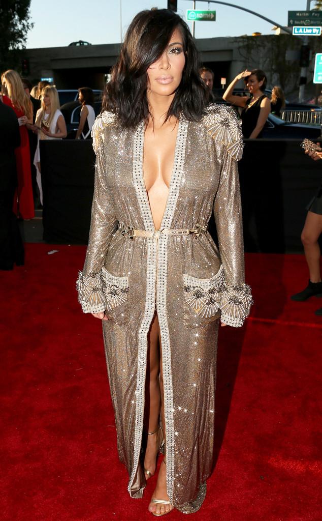 Kim Kardashian in Jean Paul Gaultier