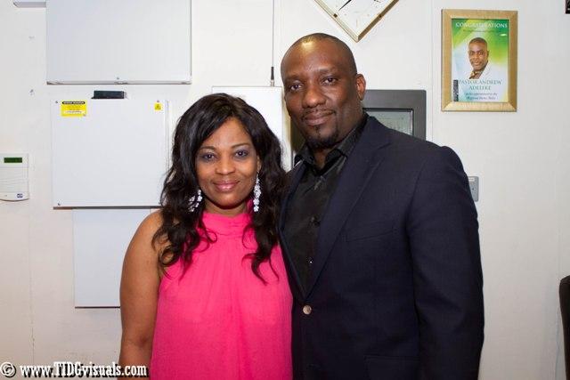 Mr and Mrs Dele Onabowu