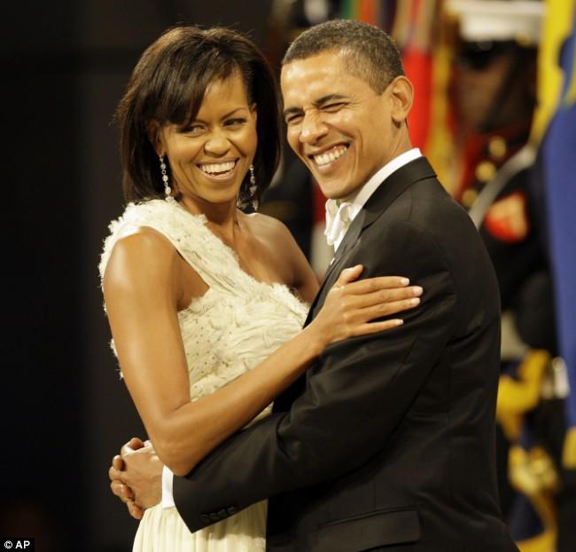 Obama and Michelle Main