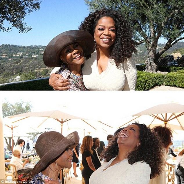 Oprah-Cicely Tyson