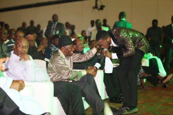 President-Jonathan-Showbiz-Interactive-Session