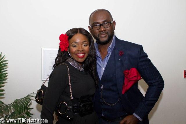 Yetunde Oyewole and Tony Monjaro